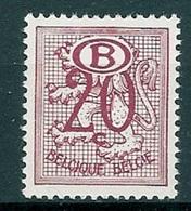 BELGIE * Nr S 48  (2) * Postfris Xx * DIENSTZEGEL * HERALDISCHE LEEUW - Service