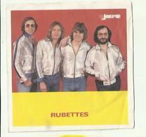 "**Oude JOEPIE- Muziekblad Sticker     ** = """" RUBETTES"""" - Autres"