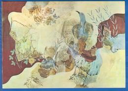 Kunst; Museum Heracleion; Greece; Blu Bird Fresco From Knossos; Big, Grandformat 167x118mm - Museen
