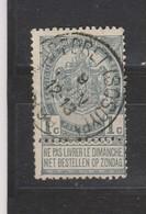 COB 53 Oblitération Centrale MAREDRET (SOSOYE) - 1893-1907 Coat Of Arms