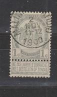 COB 53 Oblitération Centrale MALINES (Station) - 1893-1907 Coat Of Arms