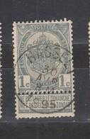 COB 53 Oblitération Centrale HASSELT - 1893-1907 Coat Of Arms