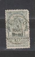 COB 53 Oblitération Centrale EECLOO - 1893-1907 Coat Of Arms