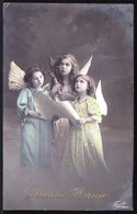 ANGE - ANGEL - GIRL - FILLETTE - BONNE ANNEE - Angeles
