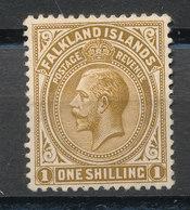 FALKLAND ISLANDS  HINGED STAMP - Sellos