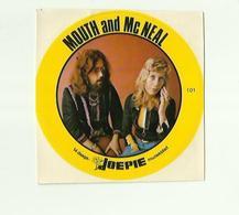 "**Oude JOEPIE- Muziekblad Sticker     ** = """"MOUTH  And  Mc NEAL """" - Autres"