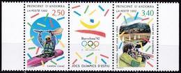 1992, Andorra, Fr. 439/40, Olympische Sommerspiele, Barcelona.. MNH **, - Ungebraucht