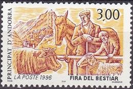 1996, Andorra, Fr.  502, Viehmarkt. MNH **, - Ungebraucht