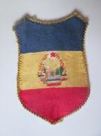 Romanian Textile Patch/emblem/ecusson Of The Romanian Patriotic Communist Guards From The 80's,size=75 X 55 Mm - Scoutisme