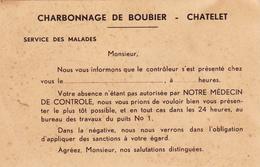 Charbonnage De Boubier à Châtelet - Collections