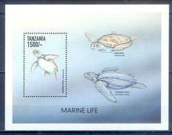 C134- Tanzania 1999 Marine Mammals Turtles. - Tanzania (1964-...)