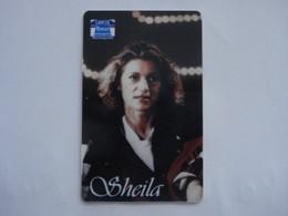 """Carte Téléphonique Prépayée """" Sepatél """"  Sheila  (neuve Non Gratter). Rare - Frankrijk"""