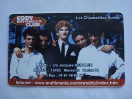"""Carte Téléphonique Prépayée """" Sepatél """"  Eddy Michel's CLUB  (neuve Non Gratter).Verso Inversé. Rare - Frankrijk"""