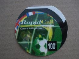 """Carte Téléphonique Prépayée  """" RapidCall """"  (neuve Non Gratter). - Frankrijk"""