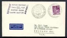 Bizone MiNr. 93 Einzelfrankatur Auf Luftpost, Sonderstempel (C834 - Bizone
