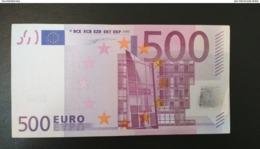 500 EURO FRANCIA(U), R001 ,DUISEMBERG, UNCIRCULATED - EURO