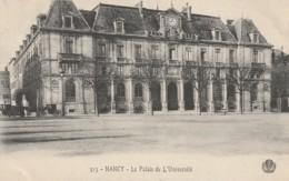 54 - NANCY - LE PALAIS DE L'UNIVERSITE - EDITION G. CUNY - Nancy