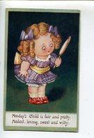 Illustrateur Enfant Child - 1900-1949