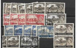 Groot-Brittannië Assortiment Castels - 1952-.... (Elisabeth II.)