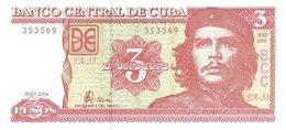CUBA P. 127a 3 P 2004 UNC - Cuba