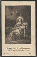 DP. ZOE VELGHE ° EECKE 1868- + ASPER 1928 - Religion & Esotérisme