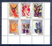C140- Surinam Suriname 2017. Polynesian Art. - Surinam