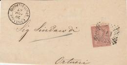 Cagliari. 1867.  Annullo Numerale Doppio Cerchio A Punti 173 CAGLIARI UFFICIO DEL PORTO, Su Frontespizio. - 1861-78 Victor Emmanuel II.