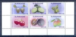 C142- Surinam Suriname 2017. Vruchten Fruits Citrus Cherry Mango Cocos. - Fruits