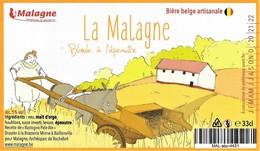 ÉTIQUETTE DE BIÈRE BELGE - Brasserie Minne - Cerveza
