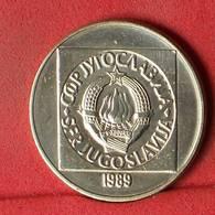 YUGOSLAVIA 100 DINARA 1989 -    KM# 134 - (Nº32586) - Yugoslavia