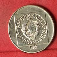 YUGOSLAVIA 100 DINARA 1989 -    KM# 134 - (Nº32587) - Jugoslawien