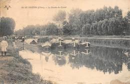 Le Guétin Cuffy Saincaize Gimouille Péniche Péniches Canal - Autres Communes