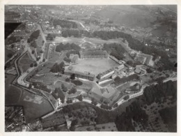 Liège Citadelle 1936 - Photographie Aérienne Militaire - Dim. 165 X 125 Mm. - War, Military