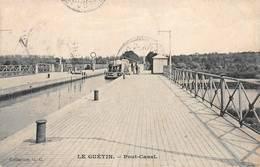 Le Guétin Cuffy Saincaize Gimouille Péniche Péniches Pont Canal - Autres Communes