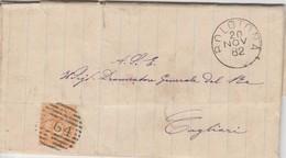 Bolotona. 1882.  Annullo Numerale Grande Cerchio A Sbarre 464, Su Lettera Affrancata - 1878-00 Umberto I