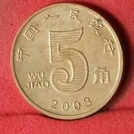 CHINA 5 JIAO 2008 -    KM# 1411 - (Nº32594) - China