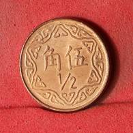 CHINA 1/2 YUAN  -    KM# 550 - (Nº32600) - China