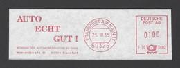 BRD AFS - FRANKFURT AM MAIN, Auto Echt Gut! - Verband Der Automobilindustrie EV (VDA) 1995 - Marcophilie - EMA (Empreintes Machines)