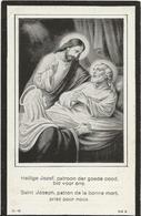 DP. NOBERT DE CLEEN ° BURGHT 31/12/1904- + ANTWERPEN, STAPPENGESTICHT 1920 - Religion & Esotérisme