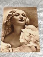 MARTA EGGERTH Universal Cartolina,, Circolata Del 1930 - Actors