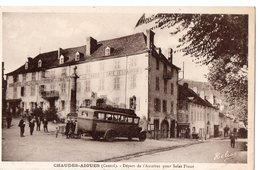 CHAUDES-AIGUES (Cantal) - Départ De L'Autobus Pour ST-FLOUR - Other Municipalities