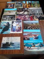 LOT N° 32 . LOT DE 44 CARTES SUR LES METIERS . TOUTES SCANNEES - Cartes Postales