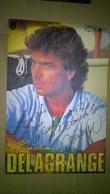 Affiche Dédicacée Par Christian Delagrange - Autographe - Autographes
