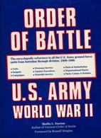 ORDER OF BATTLE US ARMY GROUND FORCE WORLD WAR WWII GUERRE 1939 1946 - 1939-45