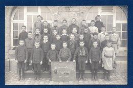 Arlon. Carte-photo. Ecole Communale Garçons . 5ème Année B  1911-12. Photo Eugène Gavroy , Habay-la-Neuve - Aarlen