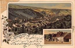 HINTERBRUHL AUSTRIA~ HOLDRICHSMUHLE~PANORAMA KUNSTLER VIEW~1900 HANS NACHBARGAUER POSTCARD 42577 - Austria