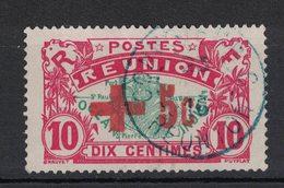 Réunion - Yvert 81A Oblitération Convoyeur En BLEU - Scott#B2 - Isola Di Rèunion (1852-1975)