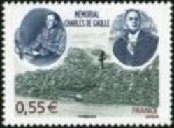 Año 2008  Nº4243 Memorial Charles De Gaulle - Francia