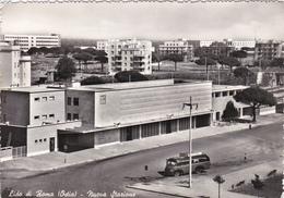 OSTIA - LIDO DI ROMA - NUOVA STAZIONE FERROVIARIA - CORRIERA / BUS - 1956 - Eglises
