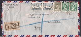Thailand - 1956 - Lettre -> England - Thailand